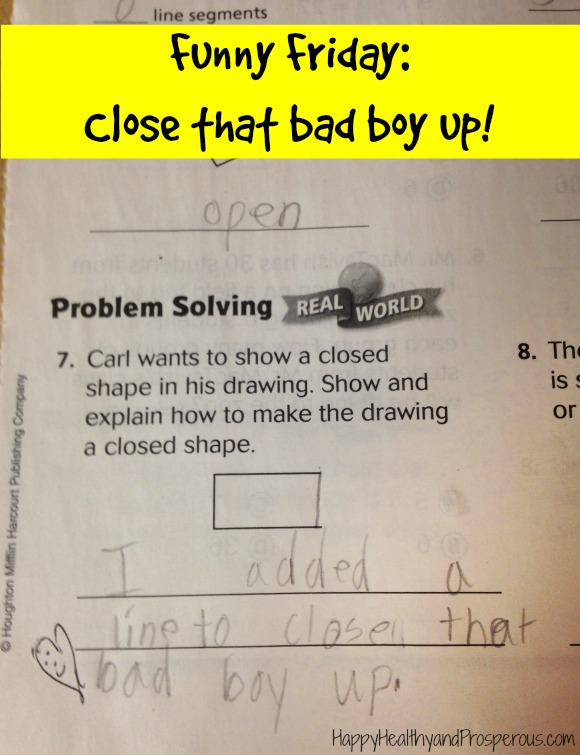 Funny Friday: Close that bad boy up!