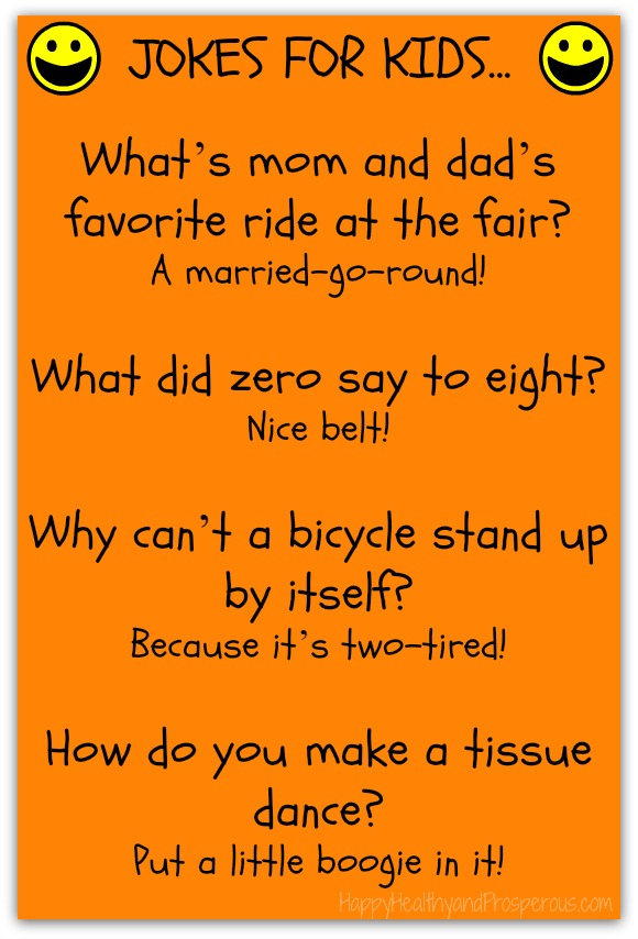 Funny Friday: Jokes for Kids - Happy, Healthy & Prosperous