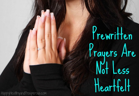 Learn How Prewritten Prayers Are Not Less Heartfelt