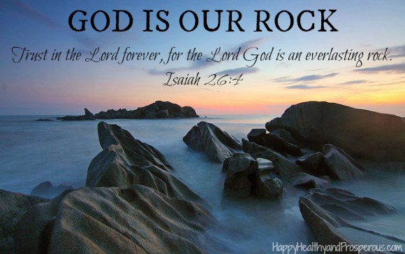 God is our rock. Learn the characteristics of rocks that God displays and how they are helpful to us in times of need.