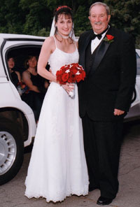 Dad & Me on Wedding Day