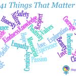 41 Things That Matter