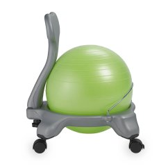 Kids Balance Ball Chair Short Lawn Chairs Creating A Better Homework Space
