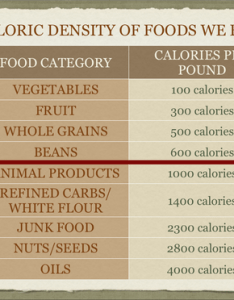 Calorie density also happy healthy long life caloric rh happyhealthylonglife