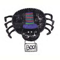 Boo Spider Halloween Door Decoration - Happy Holidayware