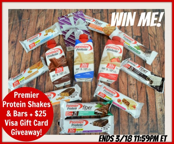 Premier Protein Giveaway