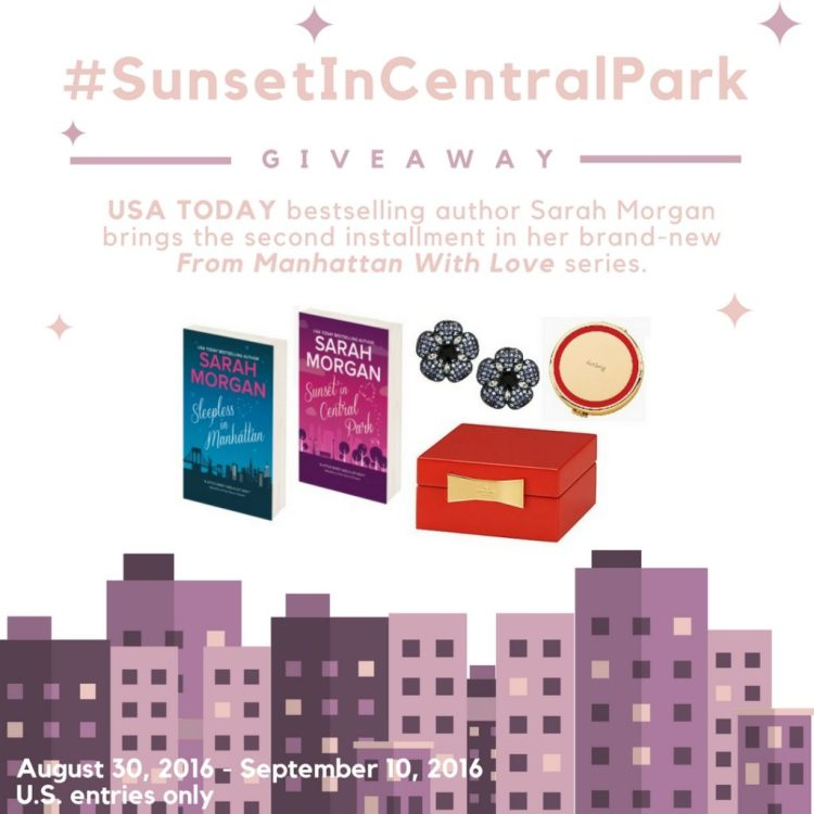 Sunset in Central Park Giveaway