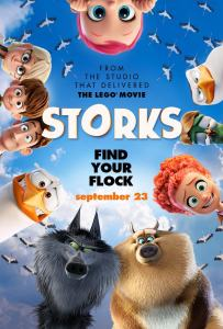 The Wonderful STORKS Movie is in Theaters 9/23.