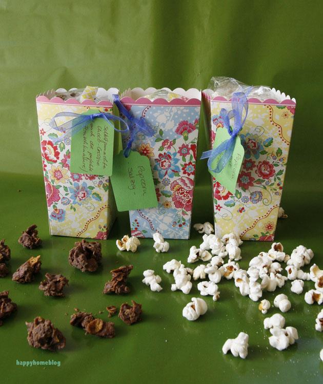 PAMK Kindheitserinnerungen selbstgemachtes Popcorn und Choco Crossis von Happyhomeblog