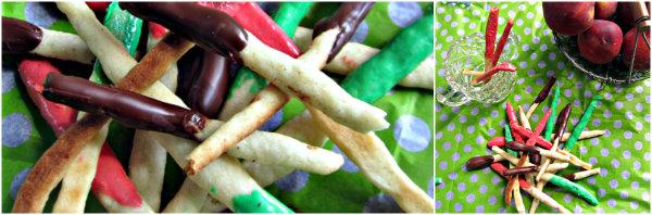 Frau Bunt kocht im happyhomeblog Mikado zum Naschen Snack zum Kinder Picknick