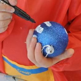 Kinder basteln zu Weihnachten Geschenke malen happy hoome blog