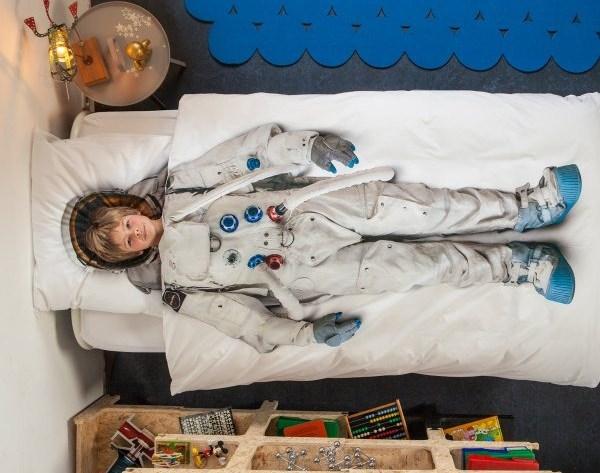 Astronautenbettwäsche von Snurk gesehen bei design3000*