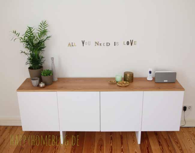 Der Erste Blogpost 2015: Ein Neues Sideboard Fürs Schlafzimmer