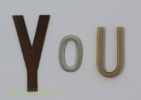 you all you need is love buchstaben aus messing von freundts by happyhomeblog.de