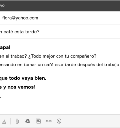 letter email in spanish informal example [ 1696 x 808 Pixel ]