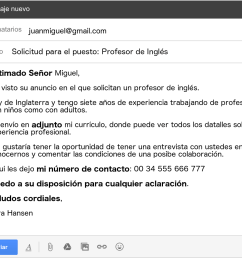 formal email in spanish example 1 [ 1689 x 980 Pixel ]