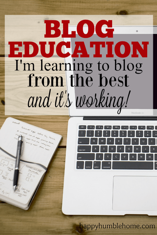 Blog Education: Learning to blog from the best and it's working! This was so helpful to me! So many great ideas about how to blog and make money!