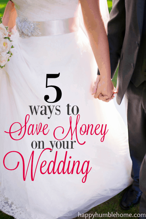 5 ways to Save Money on your Wedding- I saved SO MUCH MONEY by doing the ideas in this post! So smart! I love the examples.