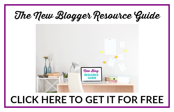 New Blogger Resource Guide