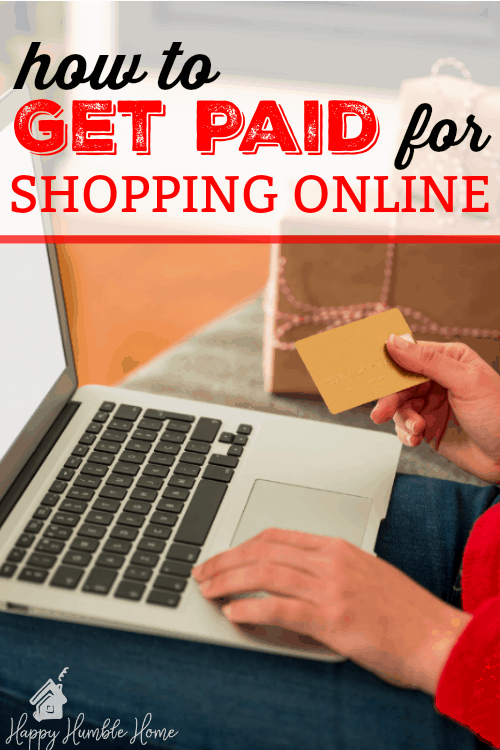 How to Get Paid for Shopping Online- Wow! I got a check in the mail for doing my regular online shopping! You have to try this!