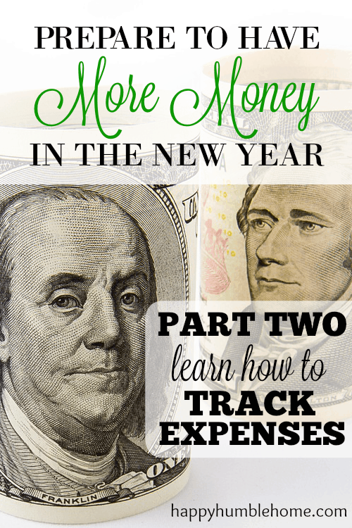 Learn how to track expenses - Prepare to have MORE MONEY next year! I did this and it's helping me save SO MUCH MONEY!