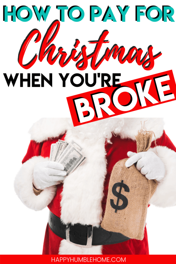 How to afford Christmas when you're broke - If you're struggling to figure out how you're going to pay for everything that goes into the holidays this year, this post is for you! These helpful tips and tricks will help you enjoy Christmas this year without all the stess, struggle and debt that can come with it! Must Read!!