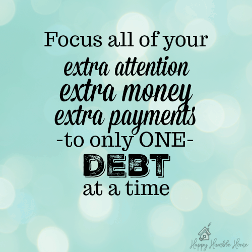 I've never thought about my debt like this before- It makes so much sense!! This really helped me!!