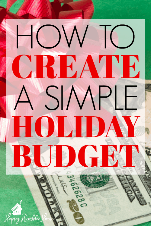 How to Create a Christmas Budget - Wow! This made it super easy to budget for the holidays! I saved a bunch of money using this free plan! You have to try it!!