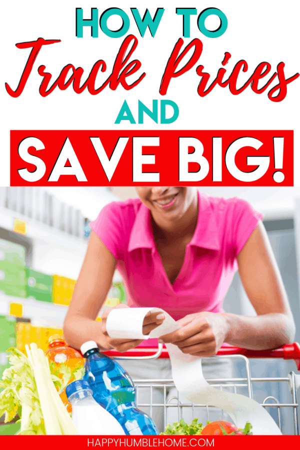How to Track Prices and Save Big - Want to know if that sale price is really a good deal? Learn how to save tons with a simple price book or this FREE printable price tracker. Shop with confidence and never overspend again!