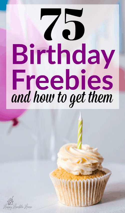 The Ultimate Guide to Birthday Freebies