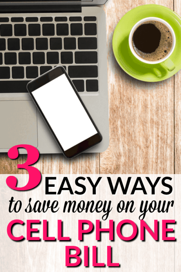 3 Easy ways to Save Money on your Cell Phone Bill - These easy tips will help you save big on your monthly cell phone costs. This strategy helped me save $62 off of my family's cell phone bill!