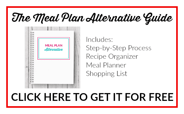 The FREE Meal Plan Alternative Guide