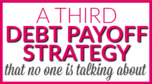 A third debt strategy that no one is talking about