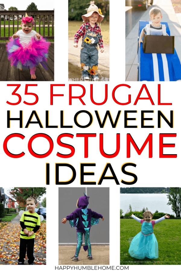 35 Frugal Halloween Costume Ideas