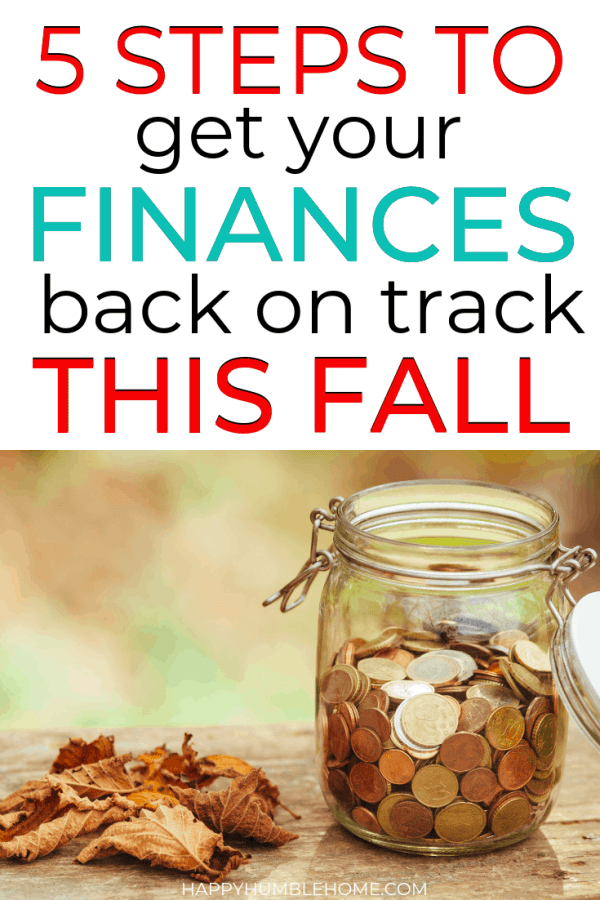 How to recover from summer spending and get back on track this fall