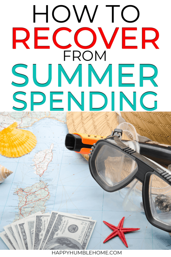 How to Recover from Summer Spending