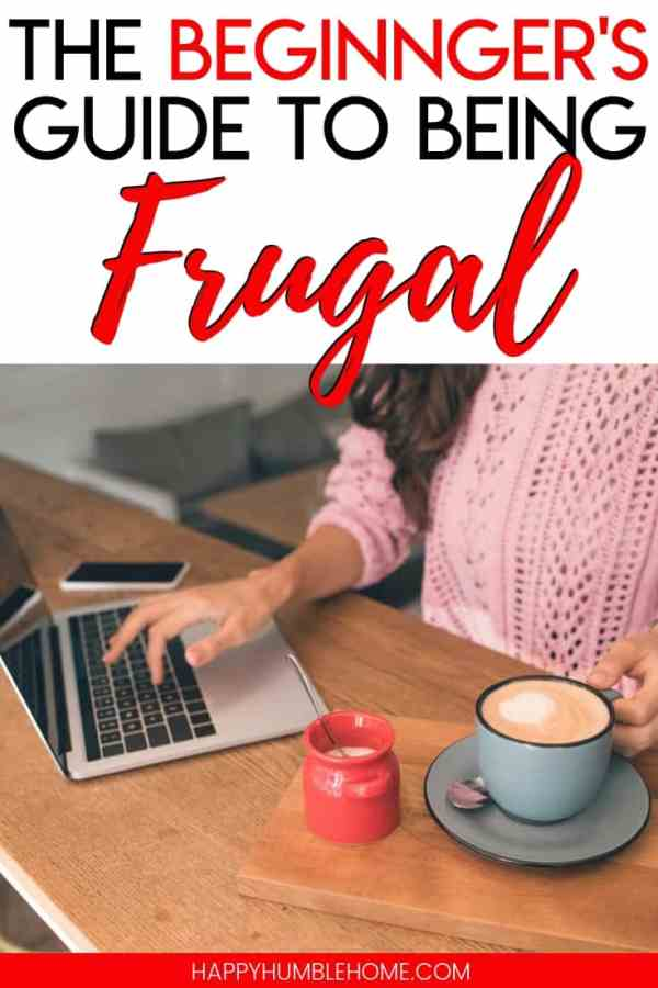 Beginner's Guide to being Frugal - These 10 tips for a money saving lifestyle will help you pay off debt and save money for your goals. You don't need to be a minimalist. These hacks can work for any family!