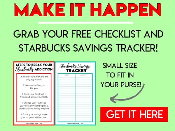 Make it happen - Grab your Free Checklist and Savings Tracker Here