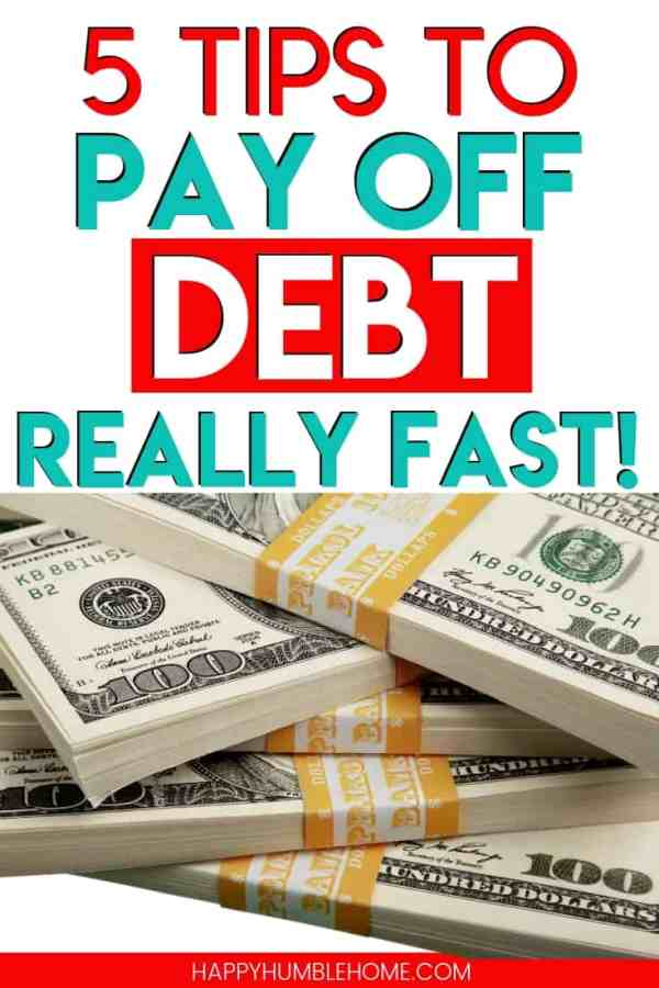 Pay Off Debt Fast