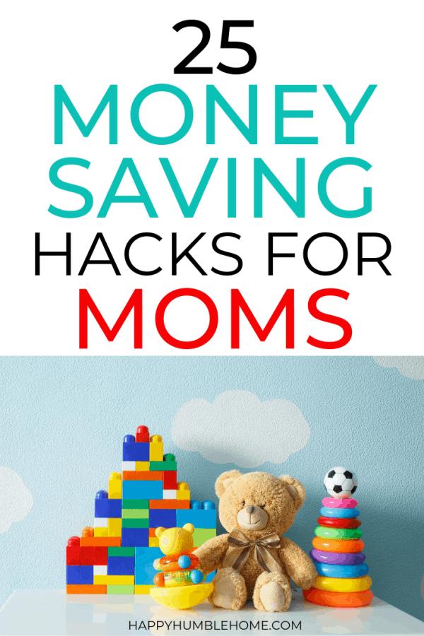 25 Money Saving Tips for Moms
