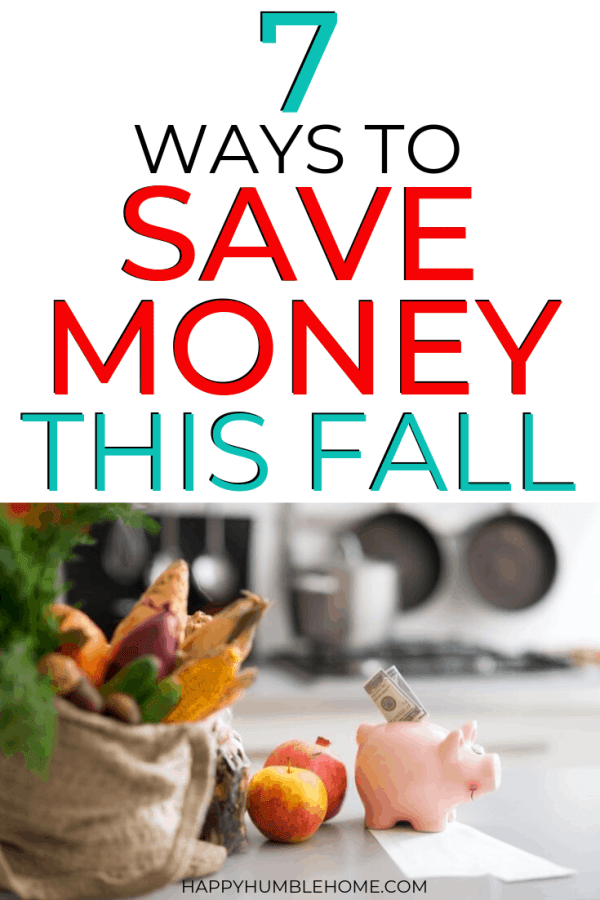 7 Tips to Save Money this Autumn