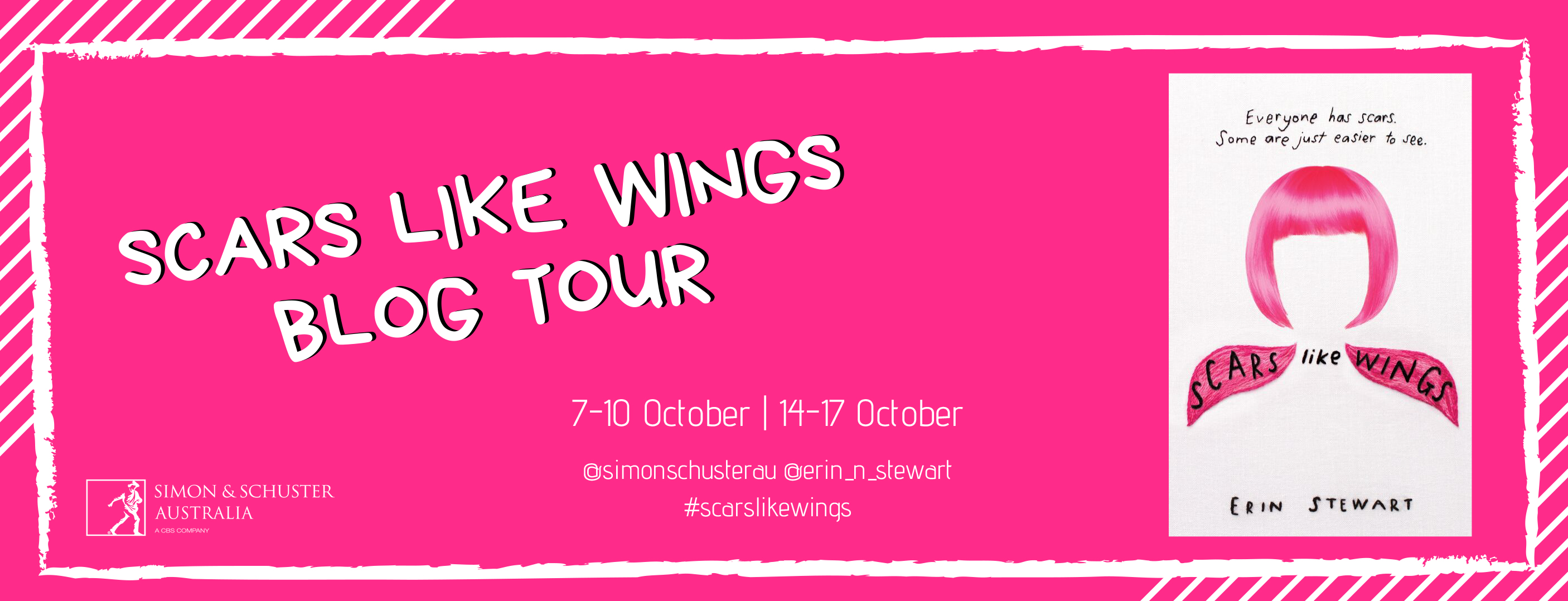 BLOG TOUR: Scars Like Wings