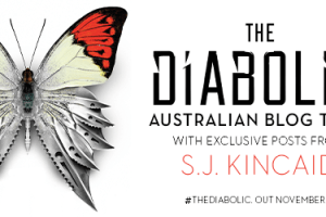 Blog Tour & Giveaway: The Diabolic by SJ Kincaid