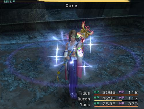 FFX_Cure