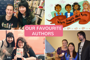 Blog Party Week: Our Favourite Authors of ALL TIME
