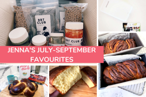 Jenna's July-September Favourite Things