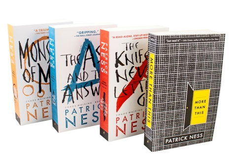 #NoiseforNess Giveaway – Win 4 Patrick Ness books! (US/Canada only)