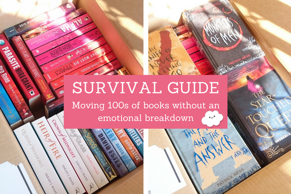 Survival Guide to Moving 100s of Books