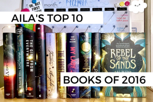 Aila's Top 10 Books of 2016