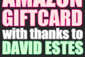 David Estes Amazon Review Giveaway + Free eBook